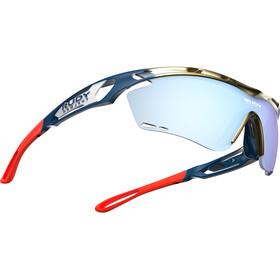 Rudy Project Tralyx Fade Team Baharain/Merida Cykelbriller rød/blå